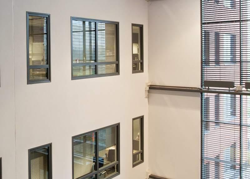 kantoorpand in groningen netjes met stucwerk afgewerkt